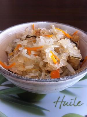 真粒米 炊き込みご飯